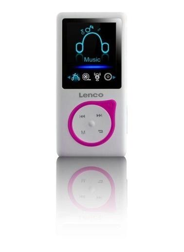 Lenco Xemio-668 8GB SD Kartlı Media Player MP3 MP4 Çalar Pembe Pembe